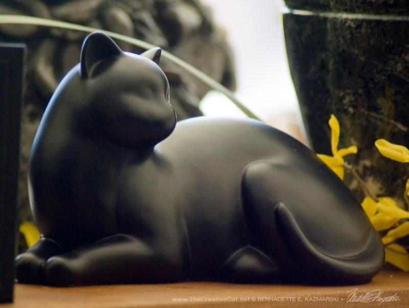 Graceful Black Kitty