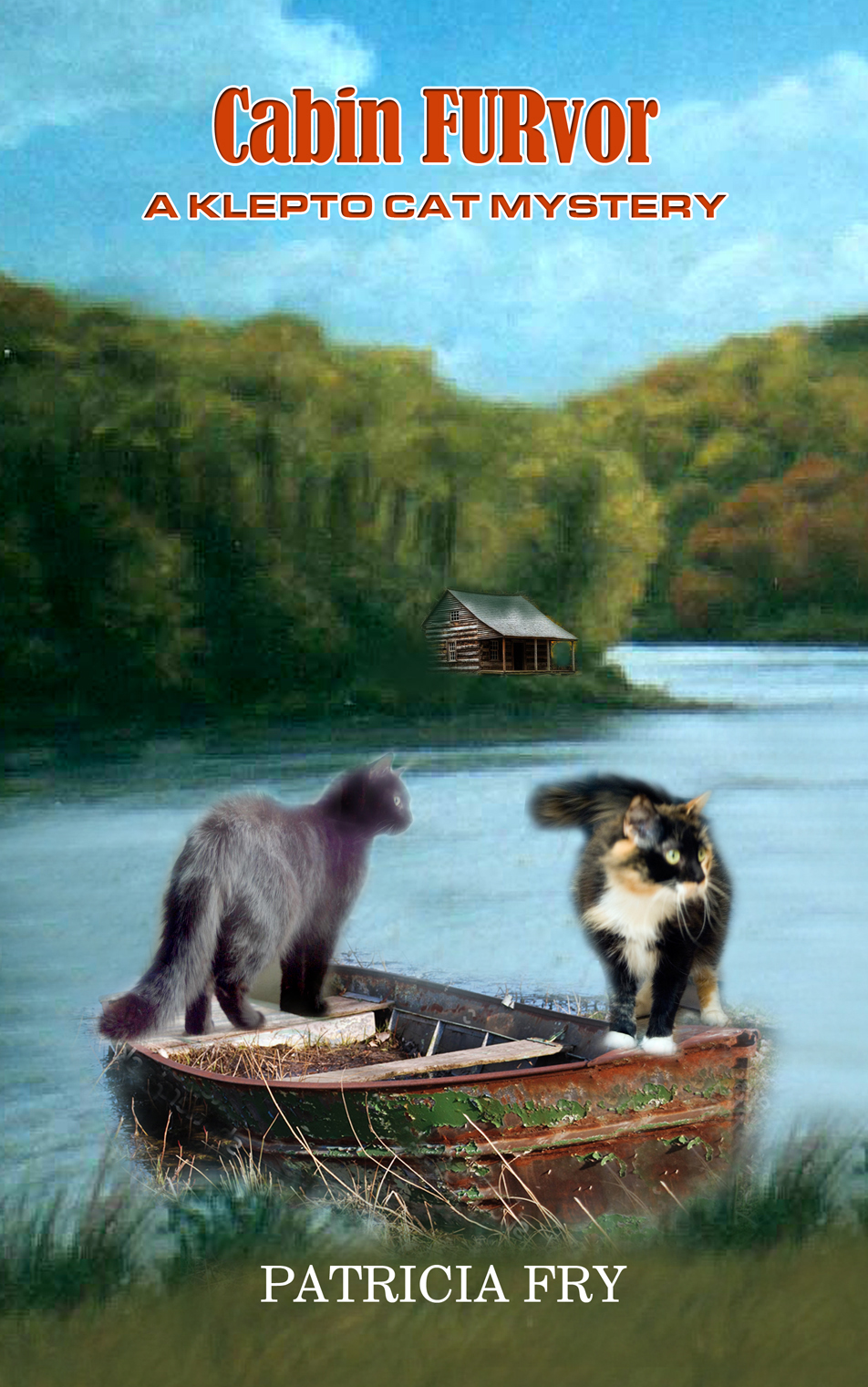 "Original composite for ""Cabin FURvor""."