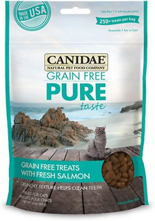 Canidae Grain-Free PURE Taste with Fresh Salmon Cat Treats