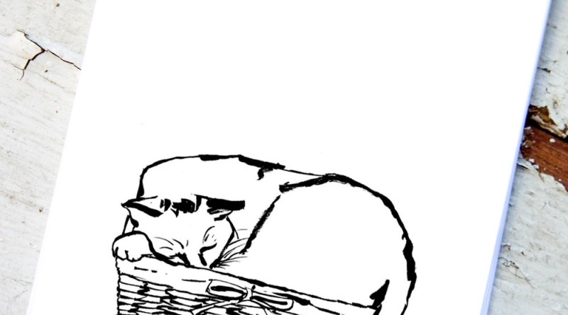 """""""Just Fits"""" in """"Creative Cats Coloring Book"""""""