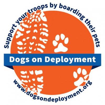 Dogs on Deployment logo.