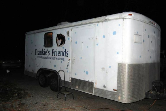 Frankie's Friends mobile spay/neuter van.