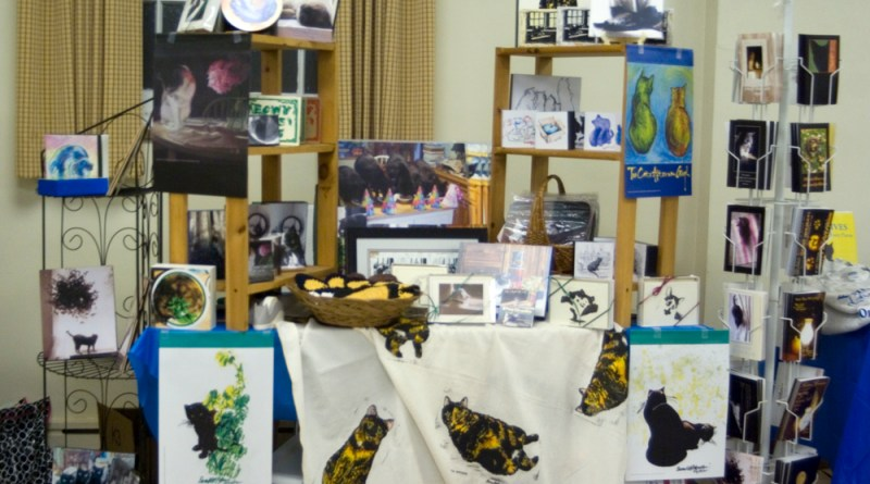table of merchandise