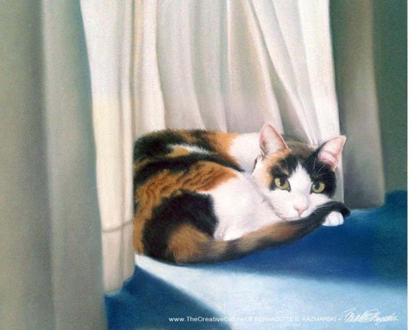 """Gypsy"", pastel on canson mi-tientes paper, 17"" x 13"", 1996 © B.E. Kazmarski"