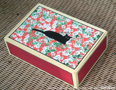 Summer Living Vintage Cigar Box Keepsake