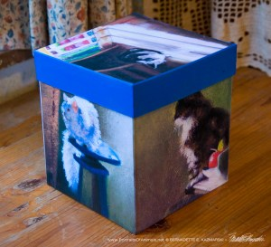 """Impressionist Cats"" Keepsake Box"