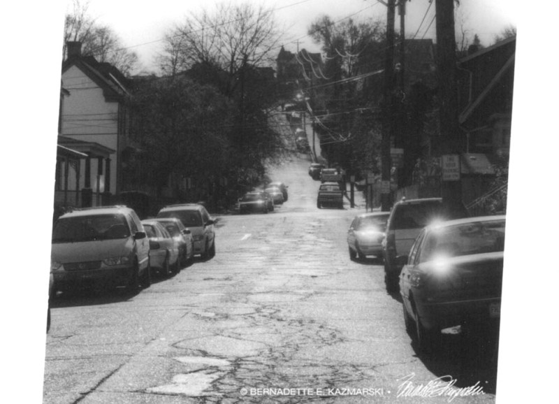 My street from the bottom.