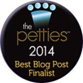 Petties Best Blog Post Finalist