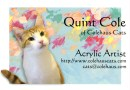 The card that comes with Quint's prints.