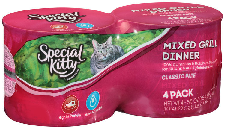 The J. M. Smucker Company Issues Voluntary Recall of Specific Lots of Special Kitty® Wet Cat Food