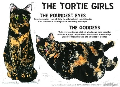 The Tortie Girls!