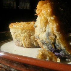 Wellness Punks' Coconut Blueberry Crumb Muffins