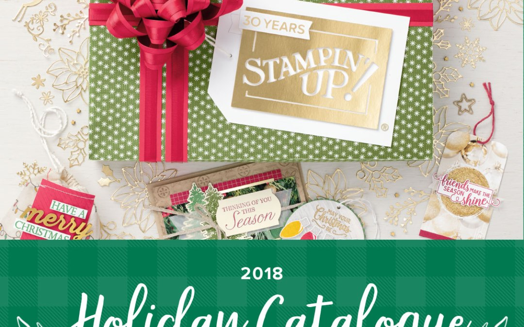 The 2018 Holiday Catalogue is here.
