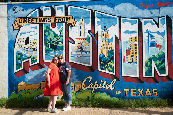 I love my job - I get to meet the best people! Here's my Stampin' Buddy, Meg & I in Austin Texas. Find out more about our meet up on www.TheCreativeEclectic.com #lovemyjob #stampinup #inspirecreateshare #lovewhatyoudo