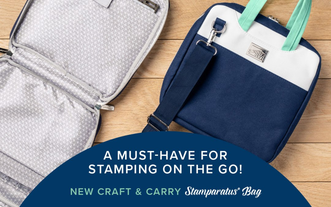 13th Gift of Christmas –  Craft & Carry Stamparatus Bag
