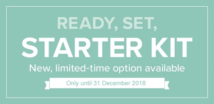 Ready Set Starter Kit – Limited time offer
