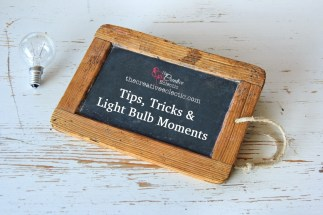 Sometimes paper crafting, scrap booking or card making doesn't go to plan and you need an easy fix. Other times you need tips and and tricks to help you achieve your results. The Creative Eclectic has compiled a series of tips, trick and light bulb moments to help make your creating easier. Get a little help from your friends. at www.TheCreativeEcelectic.com #tips #tricks #lightbulbmoment #help #alittlehelpplease #easyfix #technique #quickfix #makeiteasy #papercraft #rubberstamping #mixedmedia #stampinup