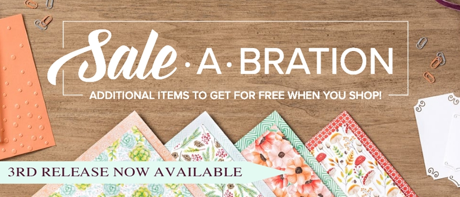 Sale-A-Bration Rewards Release 3