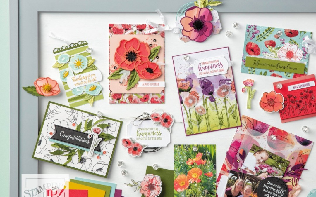 Exclusive Limited Time Painted Poppies Tutorials