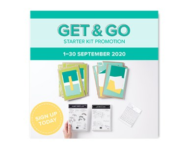 Stampin' Up! Get & Go Starter Kit Promotion! Join my team #stampinup #starterkit #promotion #thecreativeeclectic #tce #getgo #joinmyteam