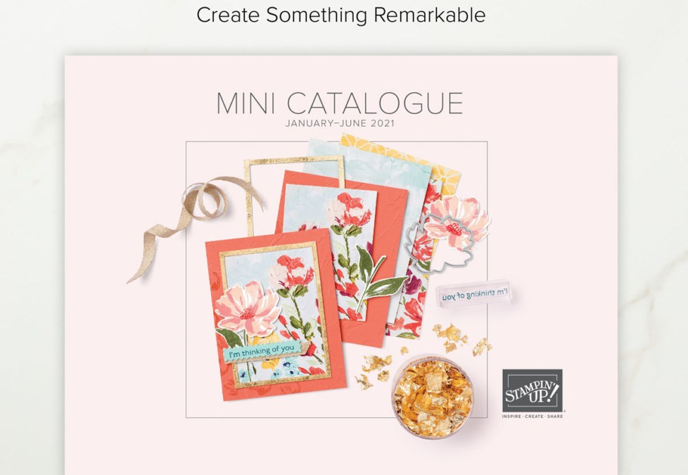 Happy New January to June Mini Catalogue