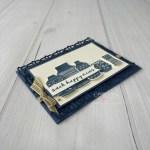 Boho Indigo handmade Card