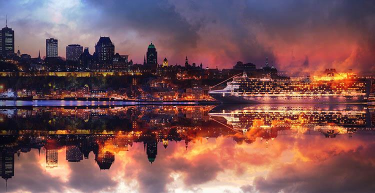 Quebec City Photo Montage 01