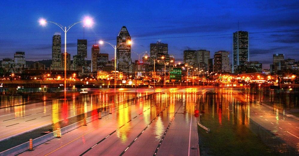 Montreal City Urban Montage 04 - Stock Photo