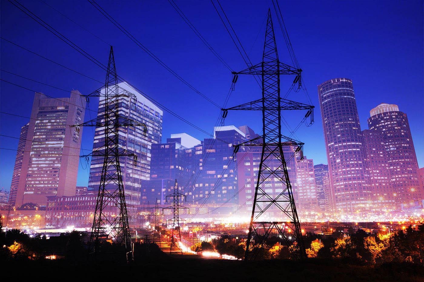Urban Energy 2 - Stock Photo