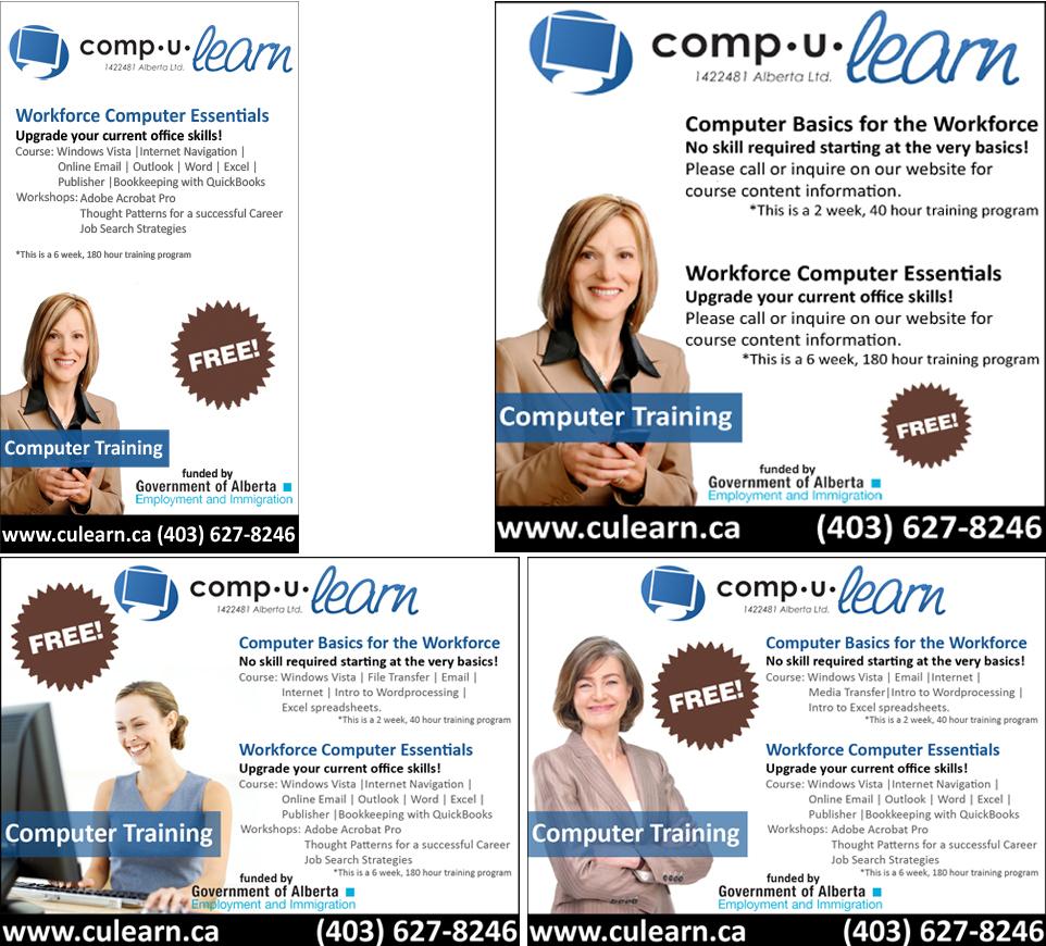 Print - Comp U Learn Ads