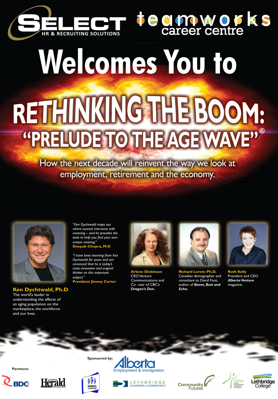 TWT - Rethinking the Boom - Prelude to the Age Wave Conference Poster
