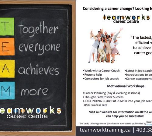 Teamworks Postcard - General Services (1 of 5) Front & Back
