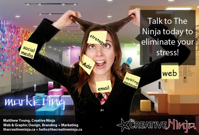 The Creative Ninja - Marketing Ad