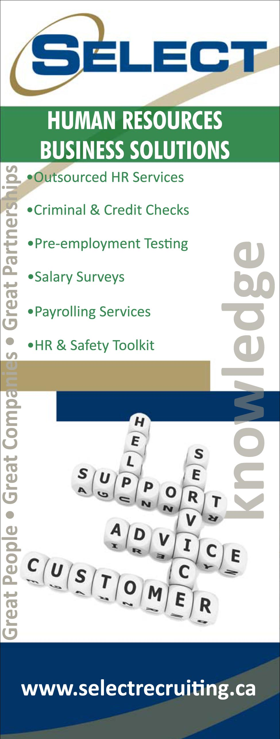 Select People Solutions - HR Toolkit Event Banner System