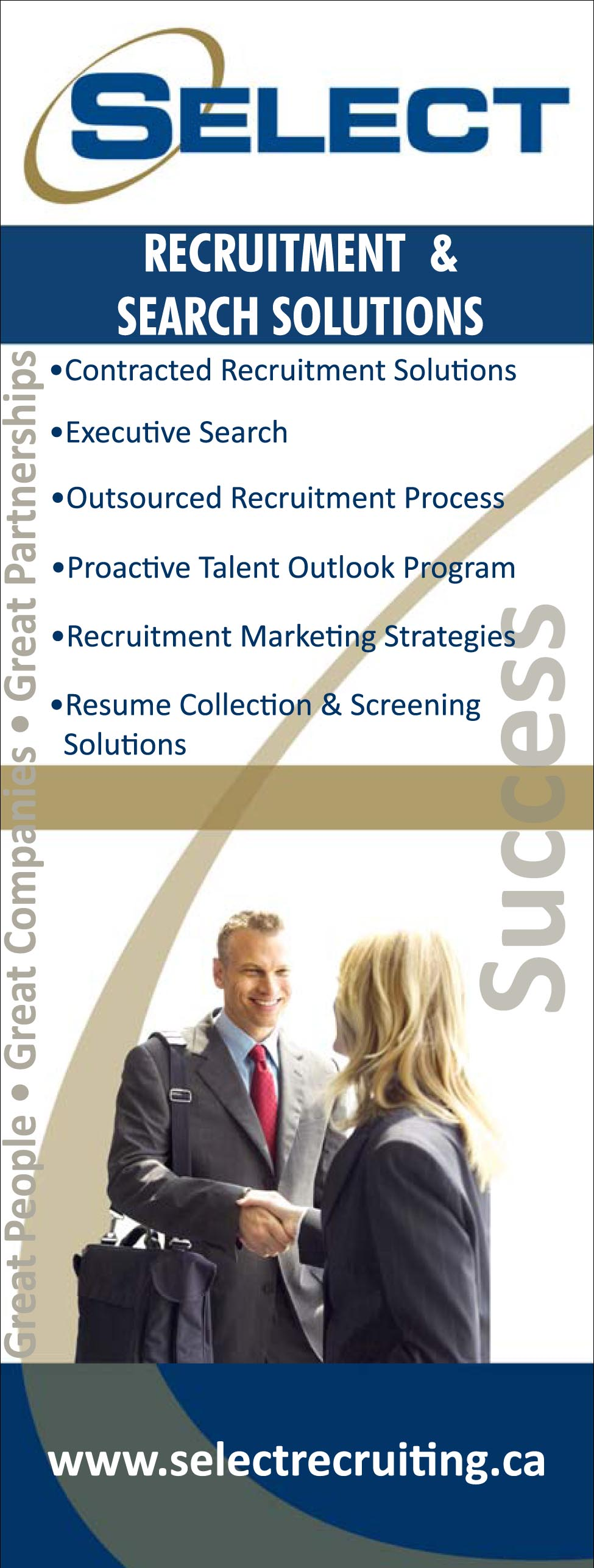 Select People Solutions - Recruitment Event Banner System