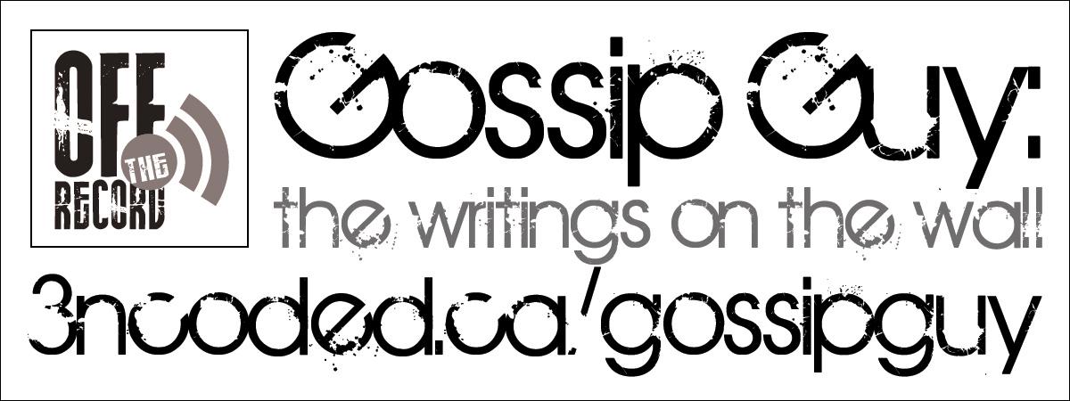Gossip Guy Promotional Sticker