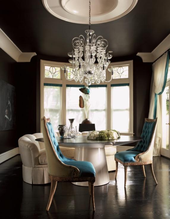 Jill_VanTosh_chocolate_black_painted_ceiling