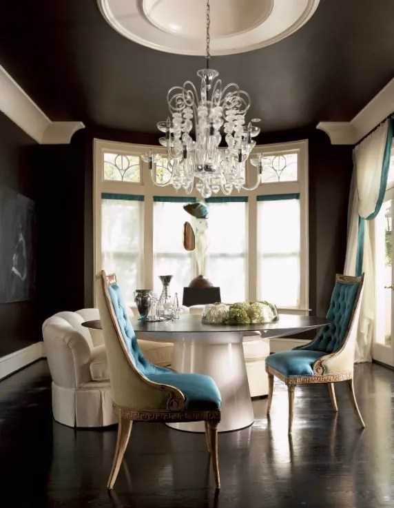Jill_VanTosh_chocolate_black_painted_ceiling