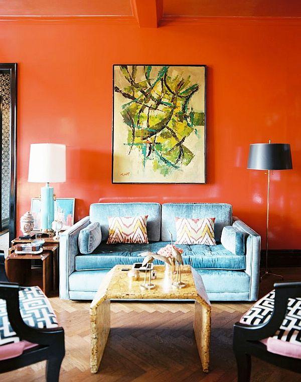 orange-walls