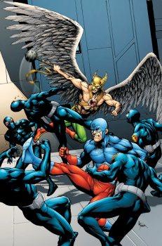Hawkman and Atom