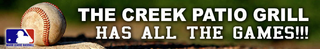 MLB Major League Baseball Games at The Creek Patio Grill Cave Creek - All The Games