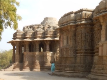 Sun Temple from one side
