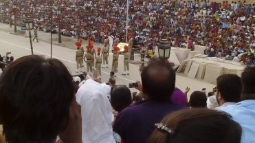 Wagah Indian soldiers