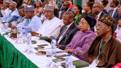 A cross-section of Ministers-designate at the event