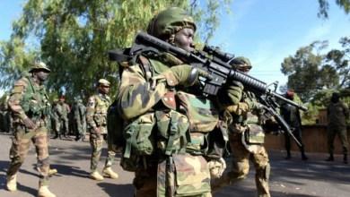 Nigerian troops at the frontline against Boko Haram