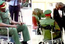 Gen. Otiki on trial (Photo-Channels Television)