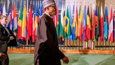 President Buhari at the United Nations
