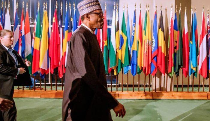 President Buhari at the United Nations
