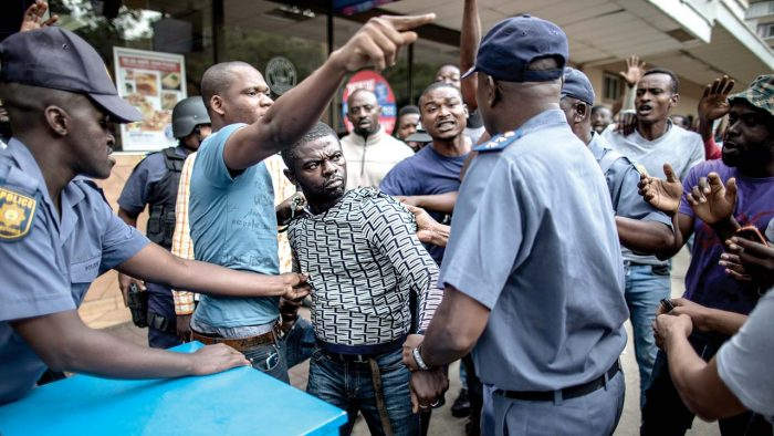 South Africa's xenophobic attack on Nigerians (Photo-Guardian.ng)