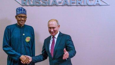 Buhari and Putin in Sochi
